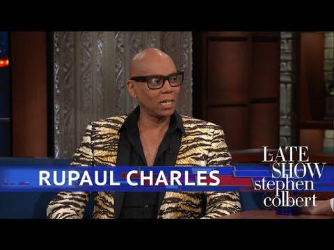 RuPaul And Stephen Share A Secret Language