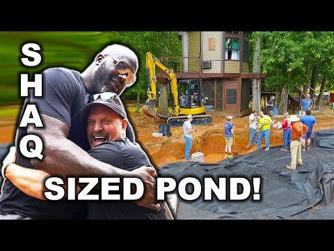 A SHAQ Sized Aquascape *POND* - Part 2