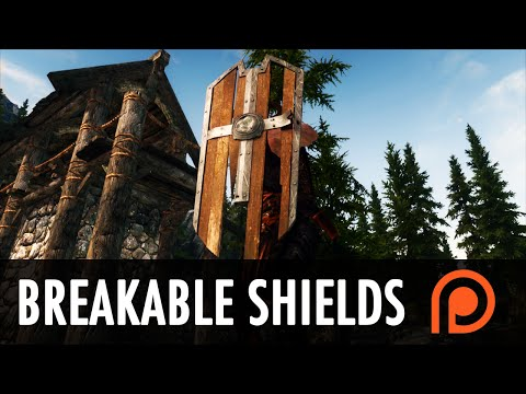 Skyrim Mod: Breakable Shields of Skyrim + Patreon Update