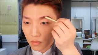 Korean Boy's EyeBrow Tutorial韓國男生畫眉攻略 - RickyKAZAF