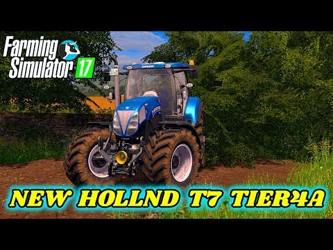 New Holland T7 Tier4a v1.0.0.0