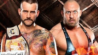 CM Punk vs Ryback - WWE Champion - Hell In A Cell 2012