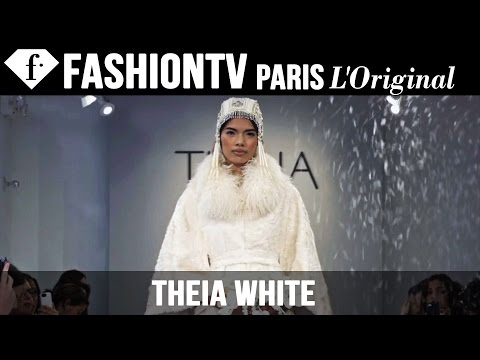 Fashion TV - http://www.FashionTV.com/videos NEW YORK - See highlights from the runway show at Bridal Fashion Week Fall 2015 from the Theia WHITE collection. The show features bridal coats perfect for winter ...