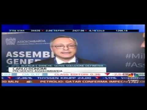 Intervista di Class CNBC al Presidente Bonomi