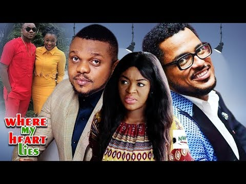 Where My Heart Lies 1&2   -van Vicker Ken & Chacha Latest Nigerian Nollywood Movie/african Movie