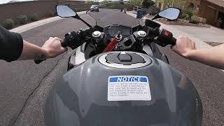 10. 2019 Kawasaki Ninja 400 ABS first ride w GoPro Hero7!!!