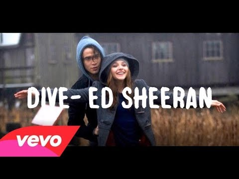 Ed Sheeran-Dive Official Music Video (видео)