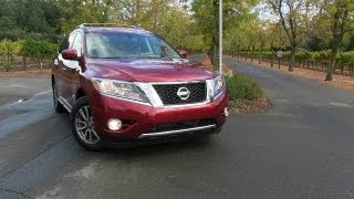2013 Nissan Pathfinder 0-60 MPH First Drive&Review