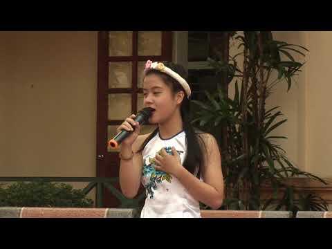 Hội thi hát dân ca, thi văn nghệ chào mừng 20-11-2017 THCS Lê Lợi (video2)