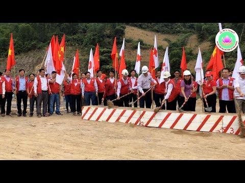 Lễ khởi công 84 Nhà Chữ thập đỏ tại Xã Trung Sơn - Huyện Quan Hóa - Tỉnh Thanh Hoá