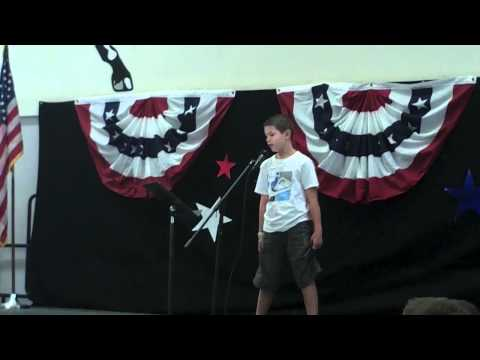 President Speech for 5th Grade