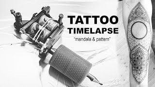 Tattoo time lapse l mandala & pattern l James Nidecker