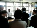 Video Autoridades Aeronáuticas Nicaragüenses y Auditores de OACI durante el recorrido por las instalaciones del INAC