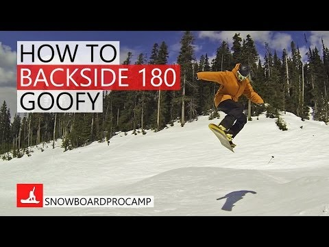 How to Backside 180 in the Park – Snowboarding Tricks Goofy