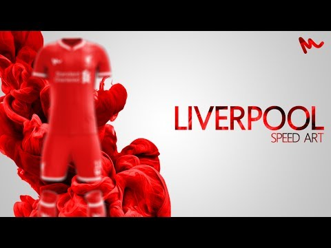 Liverpool Kit Design // Speed Art