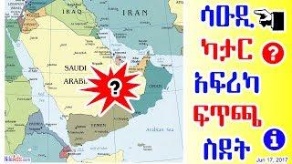 ሳዑዲ * ካታር * አፍሪካ * ፍጥጫ * ስደት - Saudi * Qatar * Africa - DW