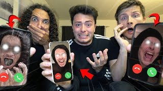 Video CALLING OUR EVIL TWINS ON FACETIME AT 3 AM!! (THEY TAKE OUR YOUTUBE CHANNELS) MP3, 3GP, MP4, WEBM, AVI, FLV Mei 2019