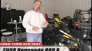 3. ATV Television Test - 2008 Can Am Renegade 800X Long Term Wrap-up
