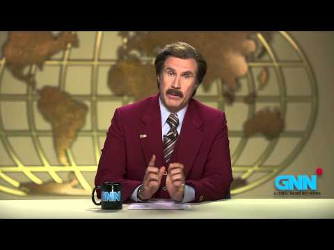 Anchorman: Ron Burgundy's Melbourne Cup Message