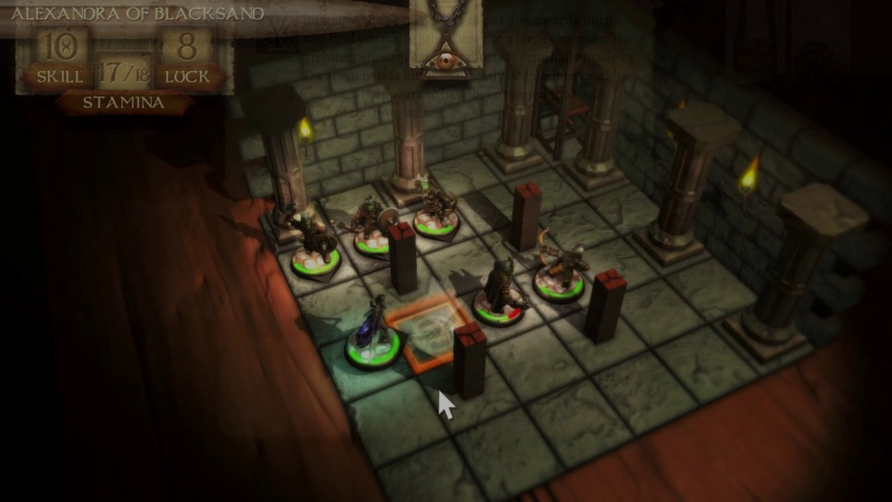New iPhone Games on Our Forums: 'RPG Djinn Caster', 'The Warlock of Firetop Mountain', 'Die By Died', 'MUL.MASH.TAB.BA.GAL.GAL', 'Dungeon Rushers' and More