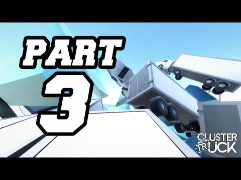► ClusterTruck | #3 | Usmažen lasery! | CZ Lets Play / Gameplay [1080p] [PC]