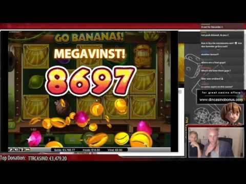 BIG WIN - Go Bananas (NetEnt)