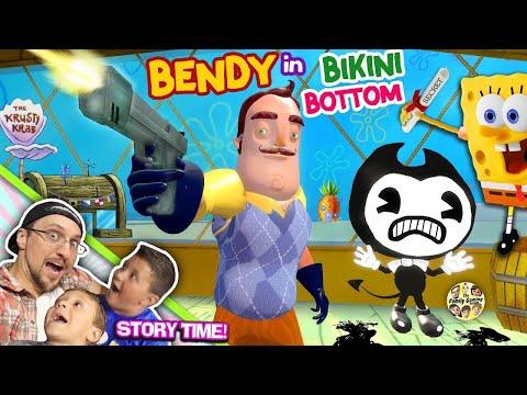 XxX Hot Indian SeX BENDY the Ink Krabby Patty Machine KRUSTY KRAB w Spongebob Hello Neighbor gets Secret Formula.3gp mp4 Tamil Video