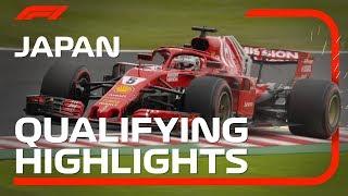 2018 Japanese Grand Prix: Qualifying Highlights