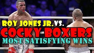 Video Roy Jones Jr. vs Cocky Boxers:His Most Satisfying Wins MP3, 3GP, MP4, WEBM, AVI, FLV Desember 2018