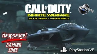 Recorded With The Hauppauge HD PVR 60 1080p 60fps ***SUBSCRIBE TODAY*** This video footage of Call Of Duty Infinite Warefare Jackal Assault VR Experience Gam...