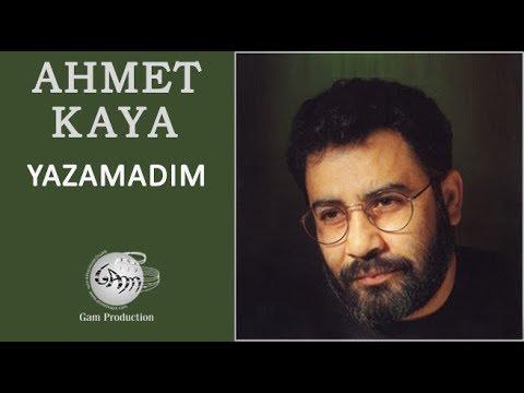 Ahmet Kaya – Yazamadım Sözleri