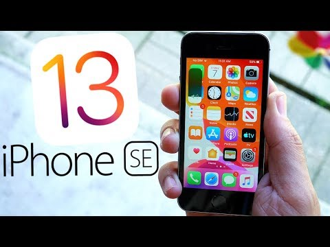 Tour of iPhone SE on iOS 13!