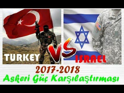 Video Türkiye vs İsrail | Askeri Güç Karşılaştırması 2017-2018 (YENİ) download in MP3, 3GP, MP4, WEBM, AVI, FLV January 2017