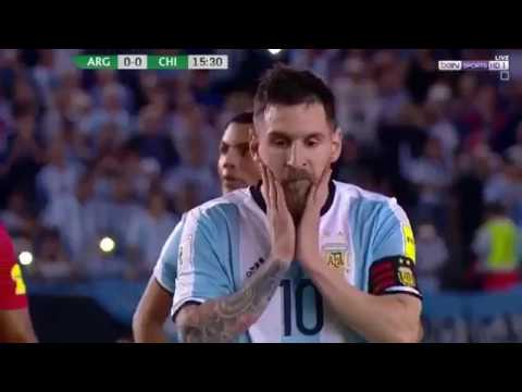 Argentina vs chili 1-0 Highlights World Cup qualifiers  2017