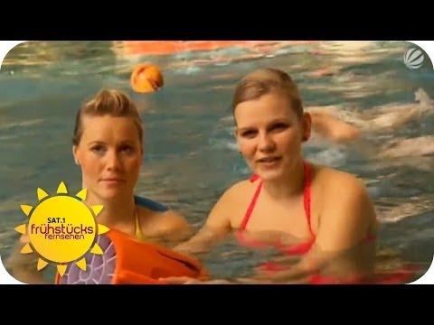 Neue Gadgets für den Swimmingpool | SAT.1 Frühstücksfernsehen
