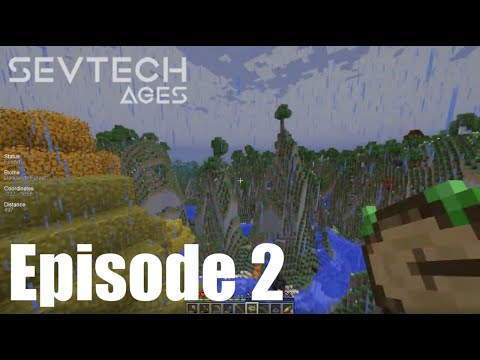 SevTech Ages - Episode 2 - Nature's Compass and the Darklands