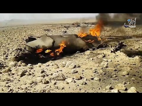 Syrie: un avion de chasse syrien abattu, le pilote capturé par l'EI