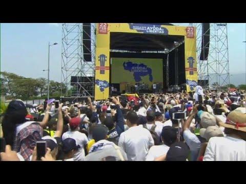 Συναυλία στήριξης στην Βενεζουέλα – Πυρ του στρατού κατά αμάχων…