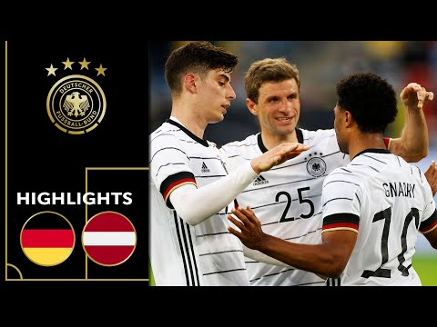 Havertz, Müller, Gnabry & Co. score 7 goals! Germany vs. Latvia 7-1   Highlights   Friendly
