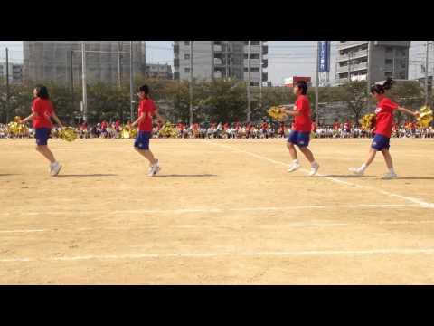 大東市立住道中学校 第67回体育大会 中3女子のダンス