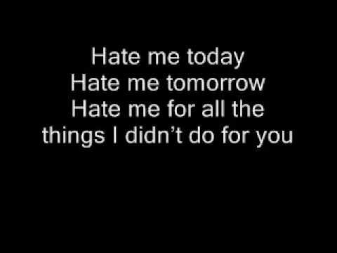 Blue October-Hate Me Today
