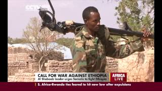 Alshabab Leader Urges Somalis To Fight Ethiopia