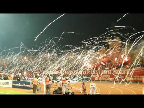 Tifo Caracas FC vs Flamengo - Los Demonios Rojos - Caracas