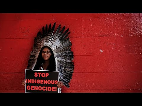 No comment: Μεγάλη διαδήλωση ιθαγενών στη Βραζιλία