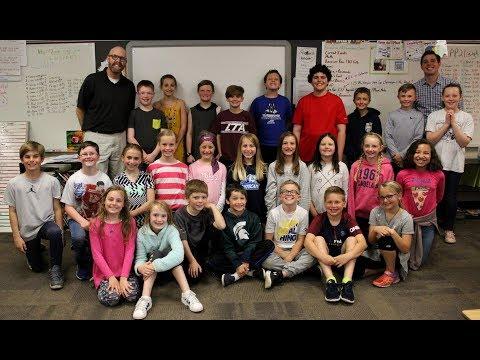 Video: Meet Mr. Klanderman's fourth-grade class