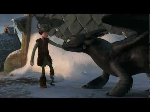 "Gift of the Night Fury - ""Hiccup & Toothless Flight"" Clip"
