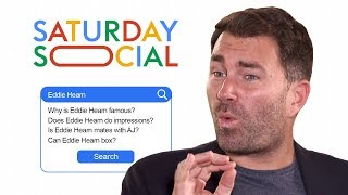Eddie Hearn Answers the Web's Most Searched Questions About Him | Autocomplete Challenge