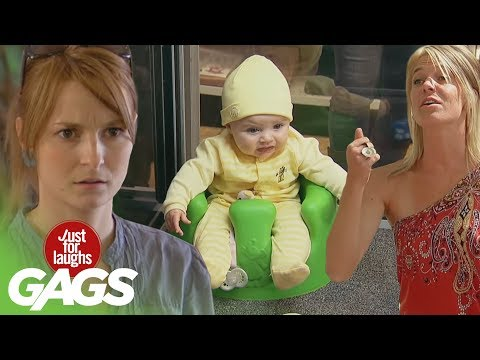 just - Who knew cute babies could also be some pretty good pranksters? Here are some of our best baby pranks! Don't miss another Gag - Subscribe!: http://goo.gl/wJx...