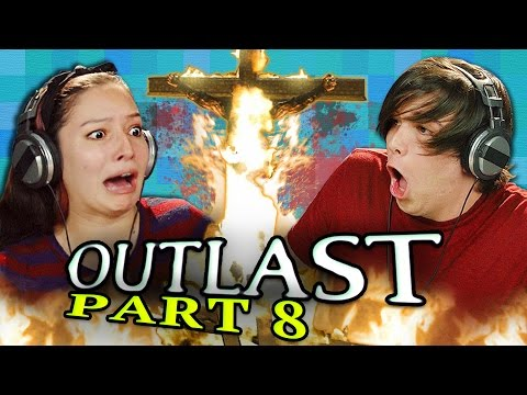 OUTLAST: PART 8 (Teens React: Gaming)