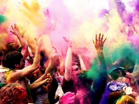 hindu festival - Every year the Hare Krishna Temple in Spanish Fork, Utah puts on the biggest Holi (festival of colors) celebration in the Western Hemisphere. In 2011 the Spa...